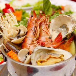 Các món hải sản